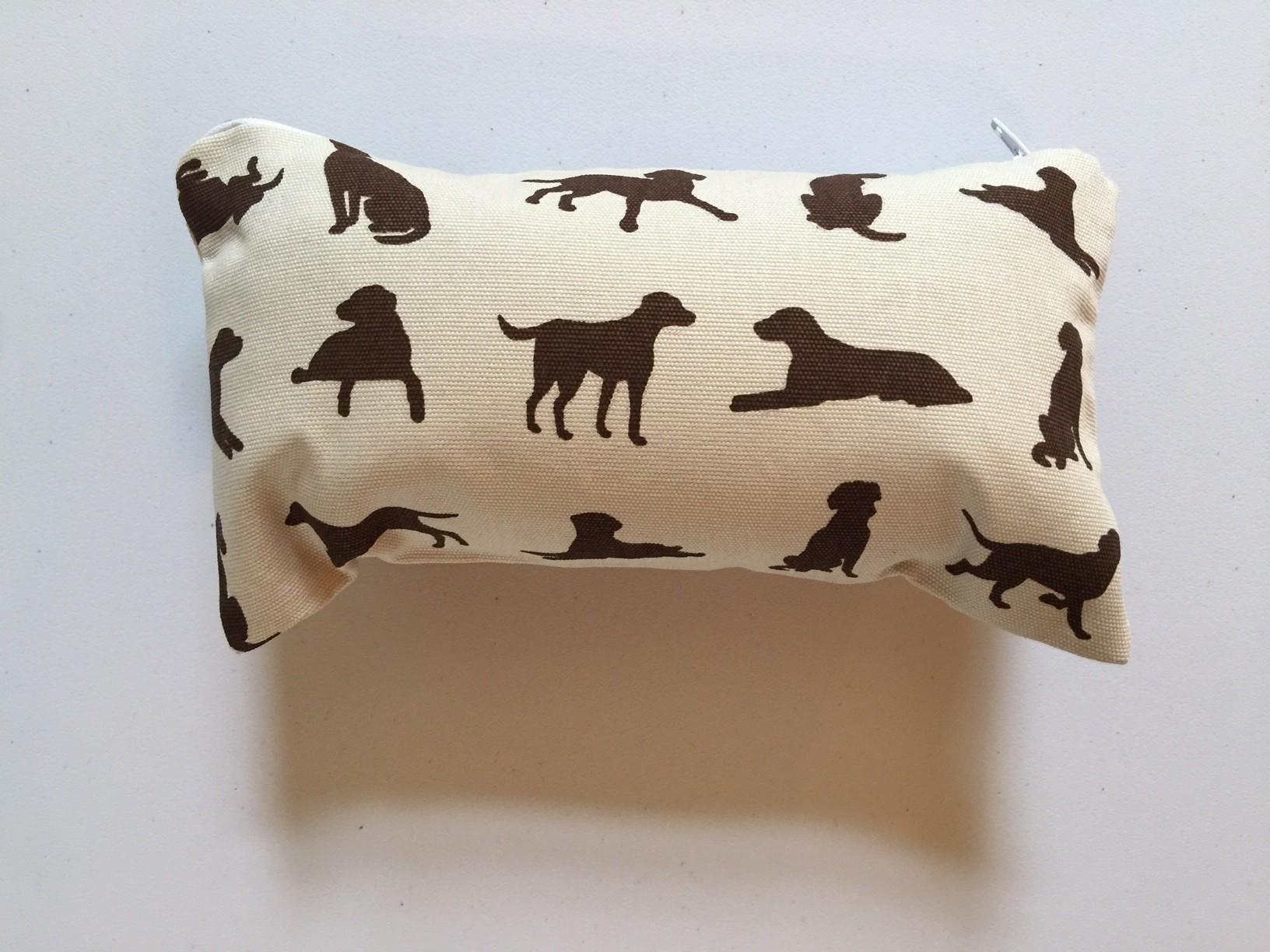 Small bag - Chocolate Labrador design