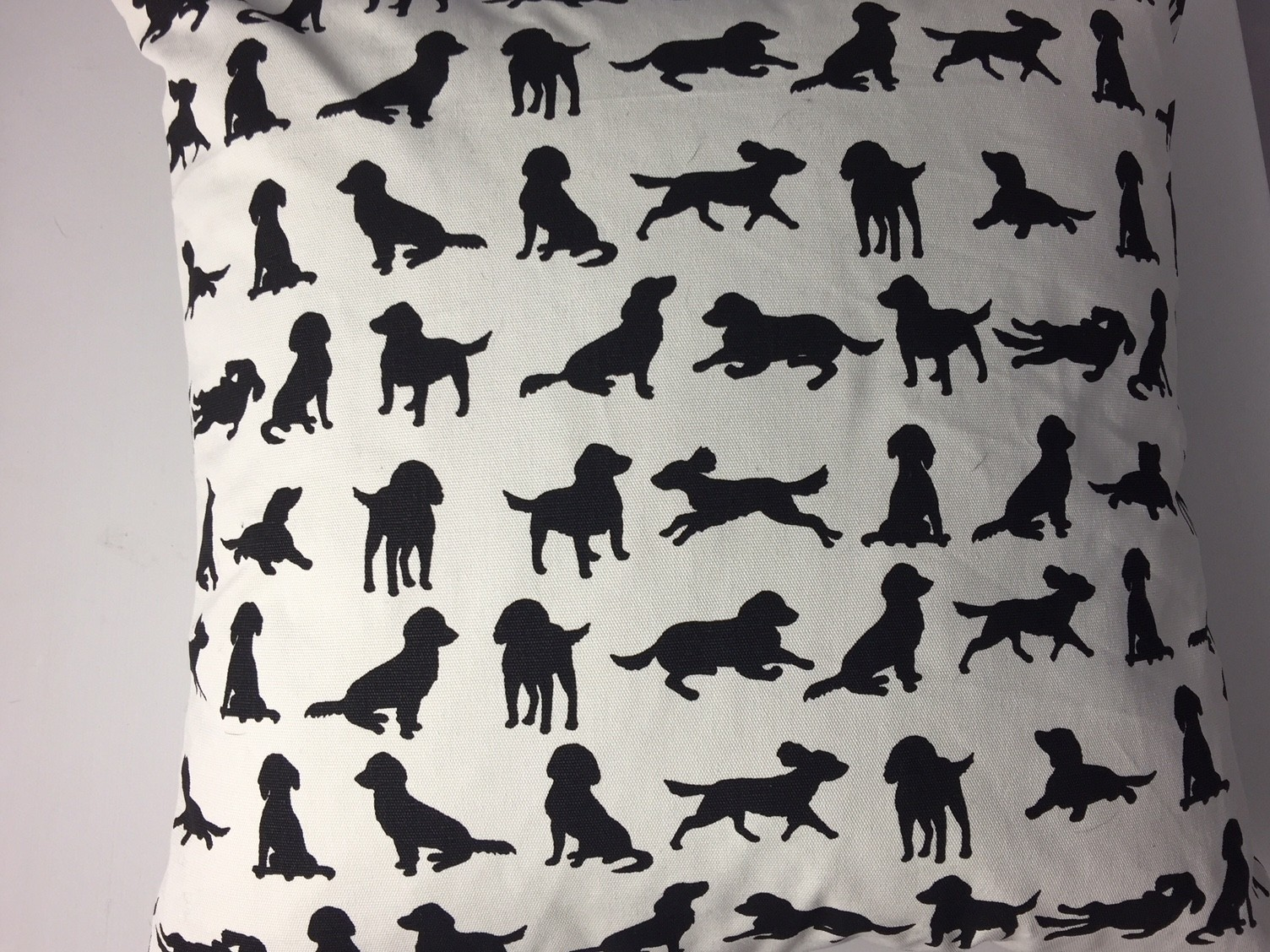 Spaniel design cushion