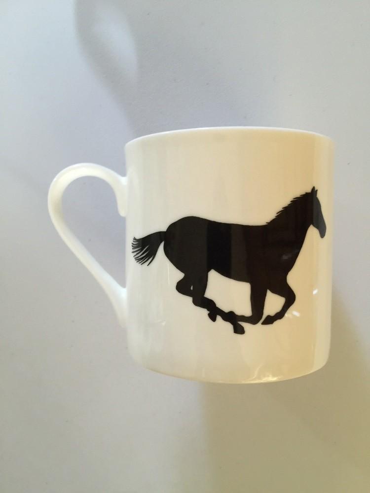 Extra Large China Mug - Horse