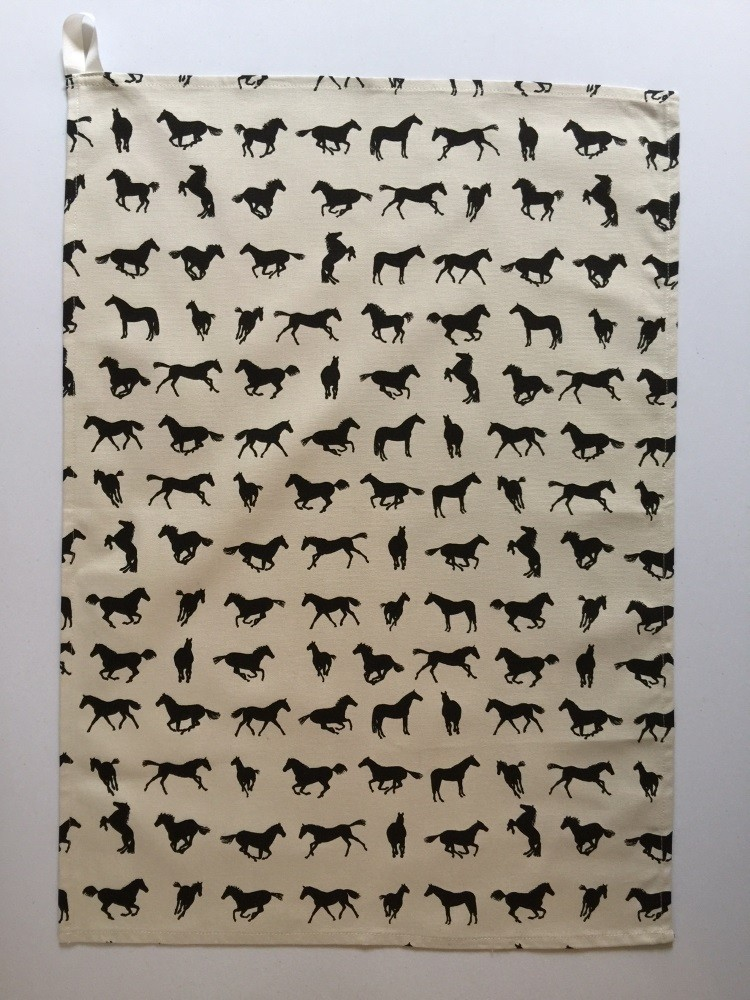Horse design Tea Towel