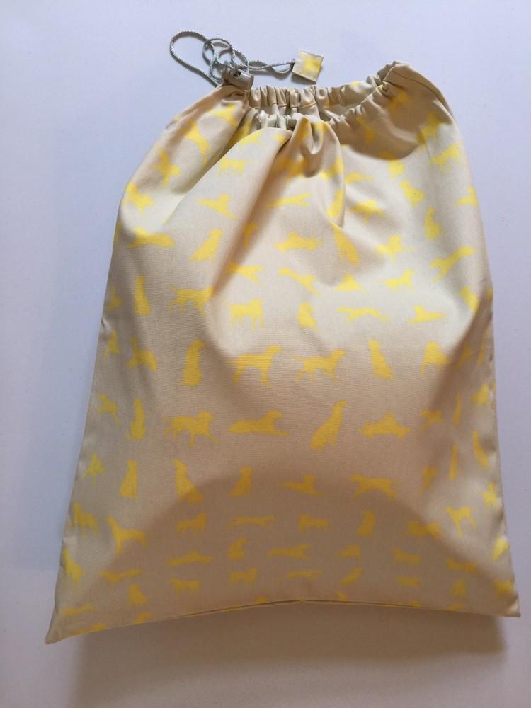 Large Bag - Yellow Labrador design