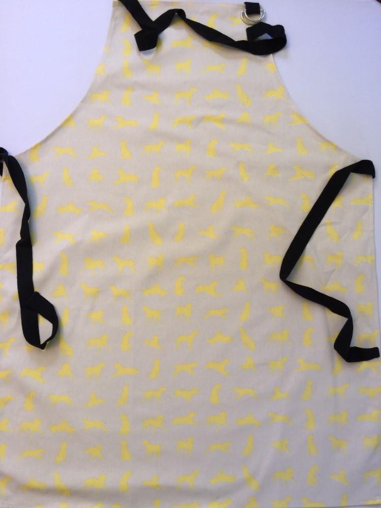 Yellow Labrador design Apron