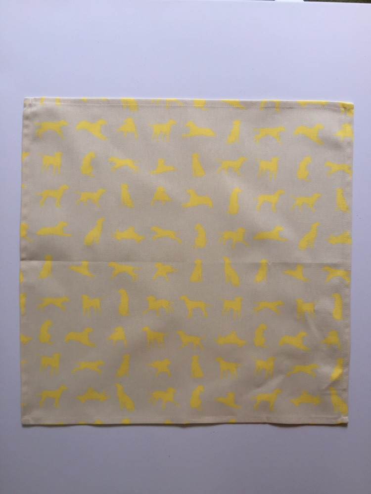 Yellow Labrador design Napkin