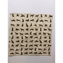 Chocolate Labrador design Napkin