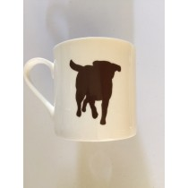 Extra Large China Mug - Chocolate Labrador