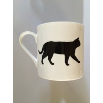 Extra Large China Mug - Cat
