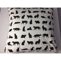 Cat design cushion