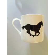 Extra Large China Mug - Horse