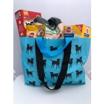 Long lasting, hard wearing shopping bag with multiple labradors design. WITH BOTH SHOULDER AND HAND STRAPS!!!!!