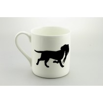 Large Mug - Labrador carrying pheasant