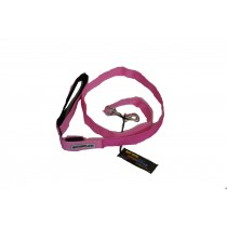 Flashing Dog Lead - Pink