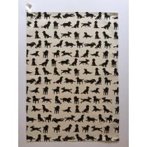 Spaniel design Tea Towel