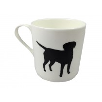 Extra Large China Mug - Standing Labrador