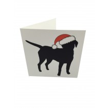 Christmas card - labrador