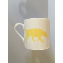Extra Large China Mug - Yellow Labrador