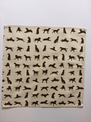 Chocolate Labrador design Napkin