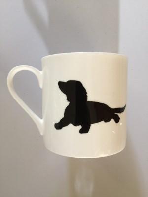 Extra Large China Mug - Spaniel design